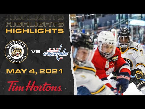 Grizzlies VS Capitals | May 4th | HIGHLIGHTS