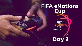 LIVE! FIFA eNations Cup | Day 2, Knockout Stages & Finals!
