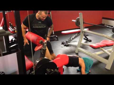 Jak naprawić mięśni po treningu wideo