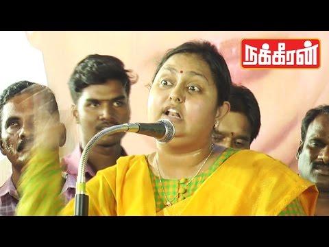 If-Premalatha-Vijayakanth-wife-of-Gandhi-What-happen-Vindhya-funny-speech
