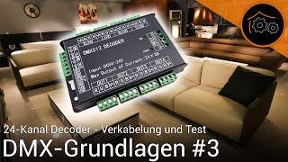 DMX-Tutorial Part 3: Ersten LED-Stripe ansteuern | haus-automatisierung.com [4K]
