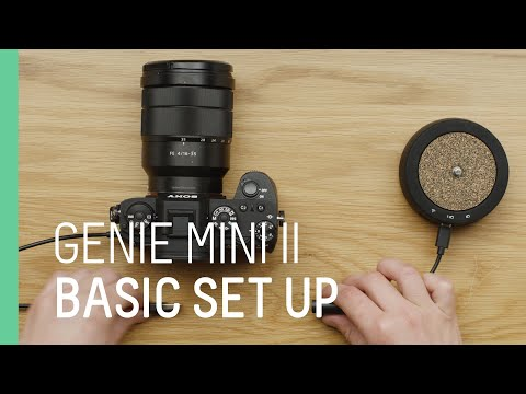 Unboxing and setting up Genie Mini II