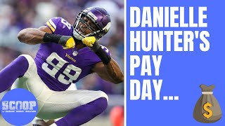 What Danielle Hunter's NEXT contract could look like for Minnesota Vikings