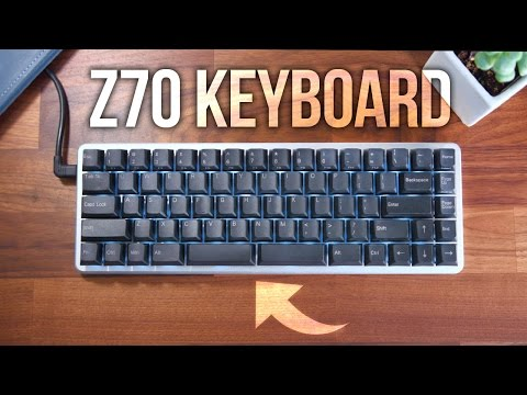 0.01 Z70 Keyboard Review – 2 Space Bars?