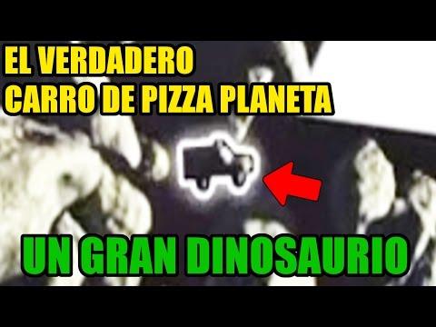 No Te Imaginaras Donde Estaba El Verdadero Carro De Pizza Planeta En Un Gran Dinosaurio