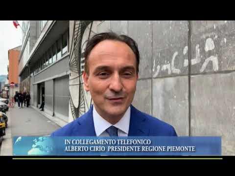 CRISI DI GOVERNO, PER IL PRESIDENTE DEL PIEMONTE CIRIO È NECESSARIO VOTARE AL PIÙ PRESTO