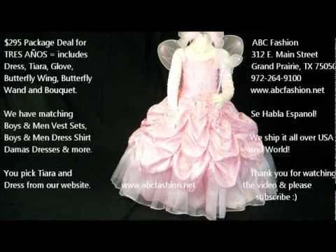 1c6c6a44a  295 Package Deal for 3 Anos in Pink Butterfly by www.abcfashion.net ...
