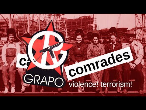 GRAPO, the armed struggle and self defence - casual comrades