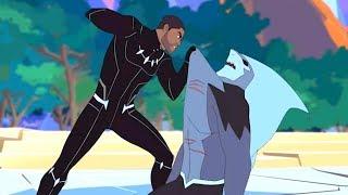 MARVEL | Мстители: Миссия Чёрной пантеры | Серия 22 Сезон 5 - Атланты объявляют войну