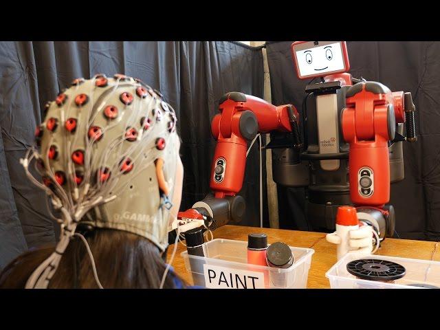 Мозговые волны помогут исправлять ошибки роботов