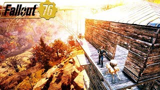 WHY IS NO ONE TALKING ABOUT THE BASE BUILDING IN FALLOUT 76: Is It Good? - Fallout 76 Gameplay
