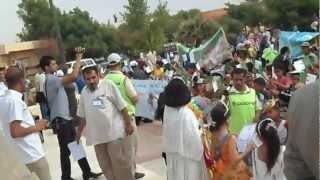 preview picture of video 'احتفال اطفال النعامة باليوم العالمي للطفولة 31/05/2012'