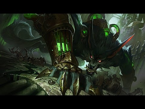 Warwick: The Wrath of Zaun New Rework BOT Gameplay test LOL