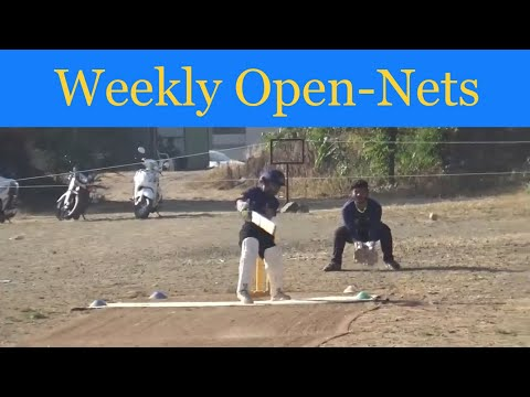 Angad Thakur open nets 17 Nov 2018 at HK cricket academy in pune