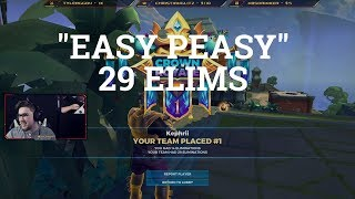 """EASY PEASY"" 29 ELIMS - DUO IN SQUADS (ALTERNIT) [REALM ROYALE]"
