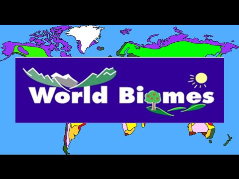 What is a Biome ? Types of Biomes in the world.