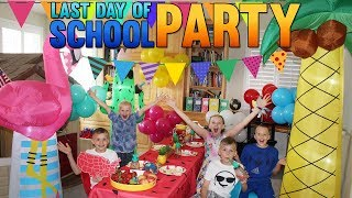 Kids Only! Last Day Of School Party!!