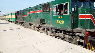 preview picture of video '14DN Awam Express Arriving ATCY Junction.'