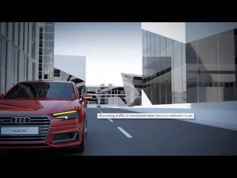 The all-new Audi A4: turn assist