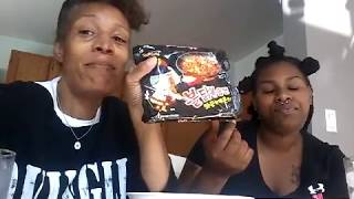 EXTREME SPICEY RAMEN CHALLENGE |  Simply Natural Black