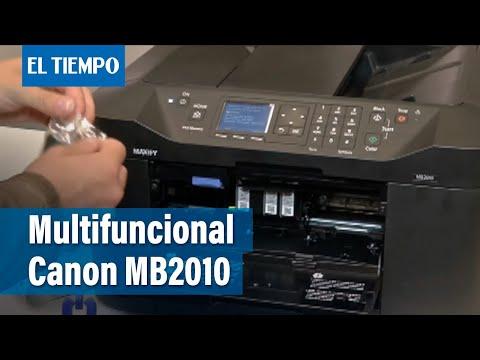 RESEÑAS: Multifuncional Canon MB2010   EL TIEMPO Televisión   enero 25 de 2016