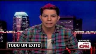 Christian Chávez habla de Libertad y Anahí en ShowBiz (CNN en Español)