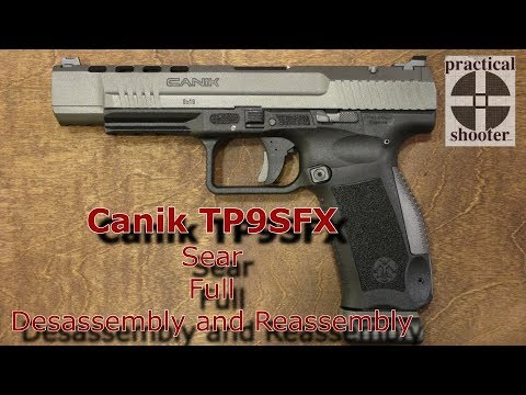 Canik TP9SFx Lower Frame Full Disassembly & Reassembly