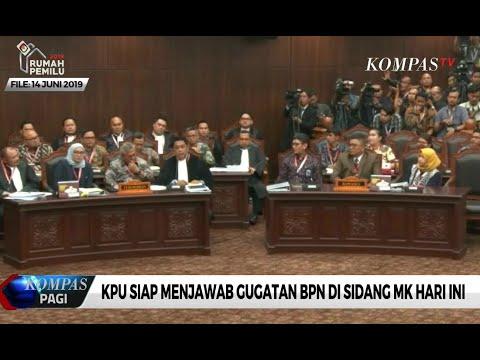 KPU Siap Menjawab Gugatan BPN di Sidang MK Hari Ini (18/6)