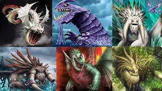 All 6 LEGENDARY DRAGONS - Dragons:Rise of Berk New Summer Update