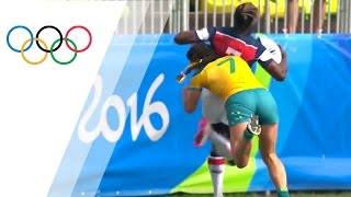 Top 10 women's rugby tackles