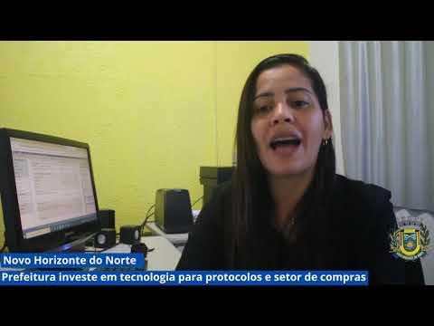 Prefeitura de Novo Horizonte do Norte investe em tecnologia para protocolos e setor de compras