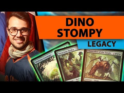 Dino Stompy - Legacy | Channel Mengucci