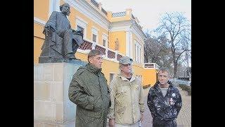 Американец Рассел Бентли, три года назад вступивший в ряды ополченцев ДНР, посетил Феодосию