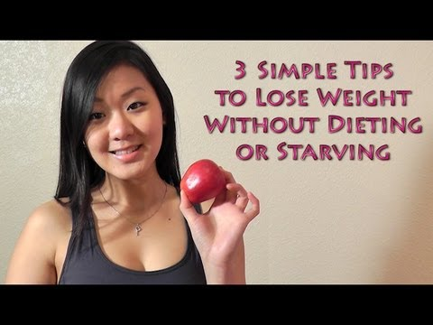 Video How to Lose Weight Fast Without Dieting - 3 Simple Tips