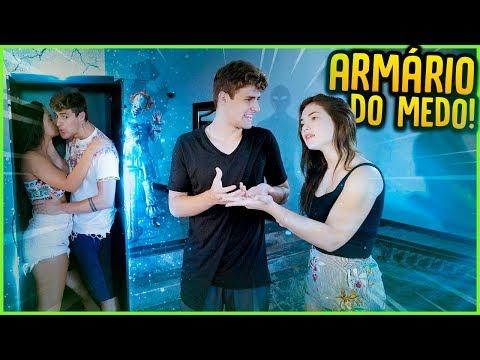ARMÁRIO DO MEDO!! ( ELE MOSTRA O SEU MEDO ) [ REZENDE EVIL ]