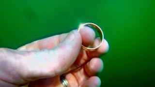 Diver Reunites Man With Unique Wedding Ring Lost in River