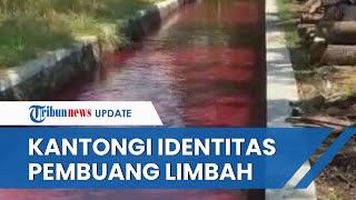 Selidiki Kasus Sungai Warna Merah Darah di Klaten, Polisi Kantongi Identitas Terduga Pembuang Limbah