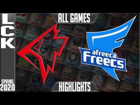 GRF vs AFs - LCK mùa xuân 2020