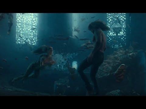 Aquaman and Mera's first Meet - Music Video (Everything I Need - Skylar Grey with Lyrics)