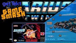 Darius Twin: gameSmash Retro SNES Gameplay
