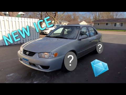 2001 COROLLA GETS NEW WHEELS (failed attempt)