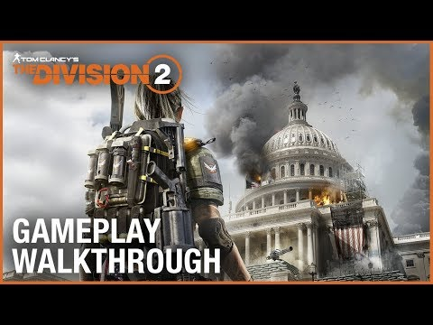 Tom Clancy's The Division 2: E3 2018 World Premiere Gameplay Walkthrough Trailer | Ubisoft [NA] thumbnail