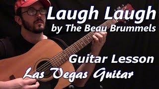 Laugh Laugh by The Beau Brummels Guitar Lesson