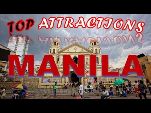 Video Visit Manila, Philippines: Things to do in Manila - City in a Forest