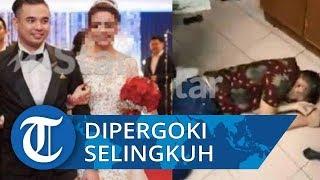 Viral Video Suami Pergoki Istri Dikunjungi Pria di Rumahnya Terekam CCTV