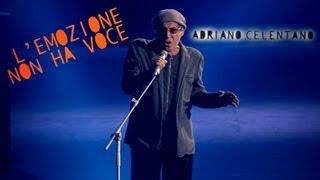 """Video thumbnail of """"Adriano Celentano - L'emozione non ha voce (LIVE 2012)"""""""