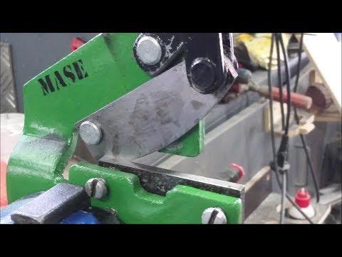 DIY Blechschere Restauration - DIY plate shears restoration