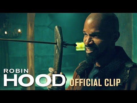 "Robin Hood (2018 Movie) Official Clip ""Training"" – Taron Egerton, Jamie Foxx, Jamie Dornan"
