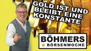 Der Goldmarkt schwächelt - und doch ist und bleibt Gold eine Absicherung und Konstante im Depot