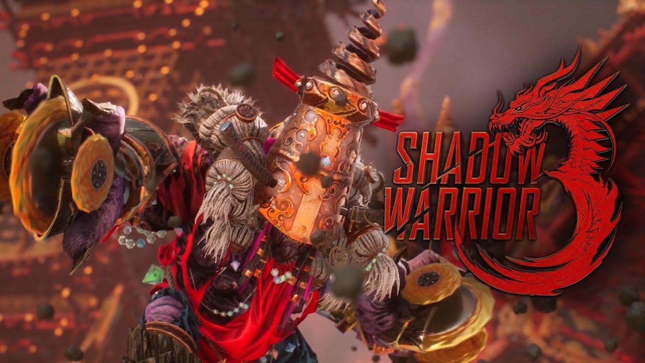 Геймплейный трейлер игры Shadow Warrior 3
